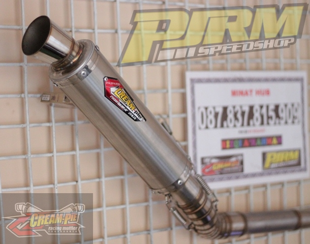 Silencer Knalpot Creampie BULAT STAINLESS NEW MODEL Satria FU